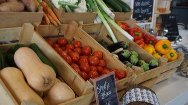 Groenten in het eerste klimaatneutrale restaurant van Nederland