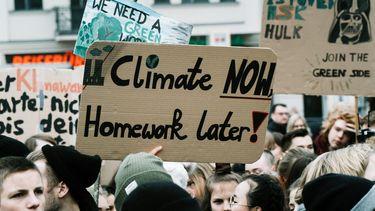 klimaat auto rijden demonstraties