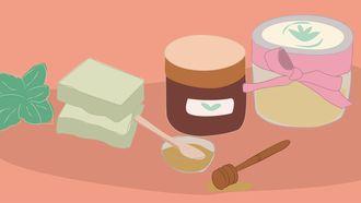 natuurlijke producten illustratie