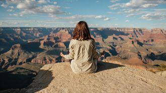 mediteren meisje