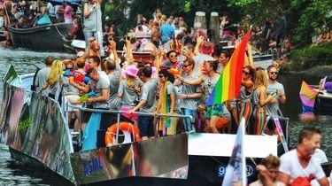 Afbeelding van de Pride Amsterdam