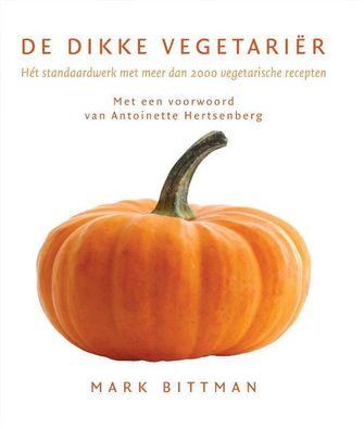 De dikke vegetariër als voorbeeld van vegetarische kookboeken