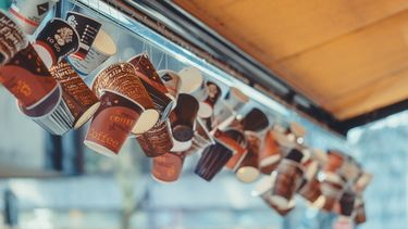 CoffeeCups, to go, BYO koffiebekers