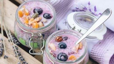bakjes yoghurt net chia zaadjes