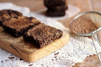 veel eiwit desserts black bean brownies