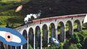 trein reist door Europa