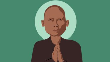 zenmeester Thich Nhat Hanh