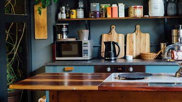 magnetron in keuken