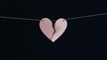 Roze hart