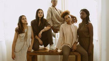 groep van powervrouwen