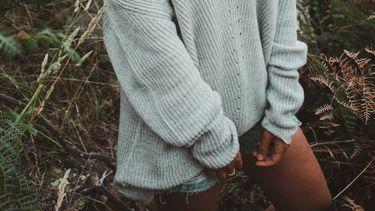 meisje in trui