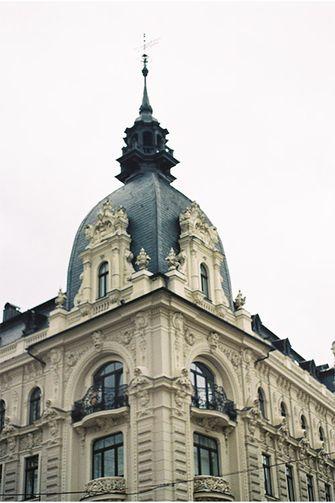 een gebouw in Riga, Letland