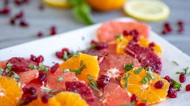 Afbeelding fruitsalade met een twist