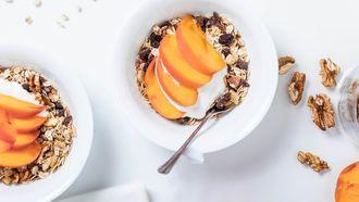 walnoten in heerlijk ontbijtje