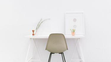 minimalistisch kantoor
