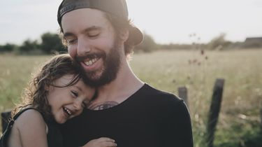 vader met dochter