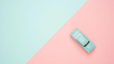 plastic speel autootje