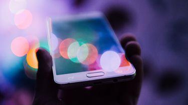mobiele telefoon met apps