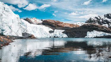 gletsjer in peru