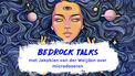 Bedrock talks podcast microdoseren illustratie