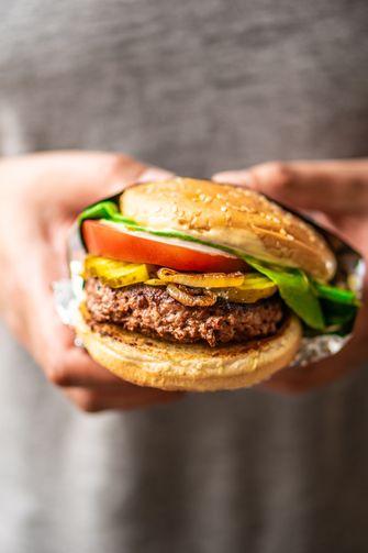 vegan burger beyond meat