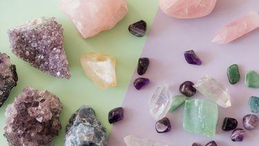 kristallen die worden opgeladen