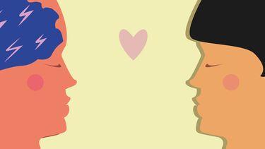 illustratie twee mensen