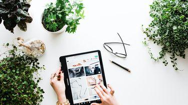 online shoppen op ipad