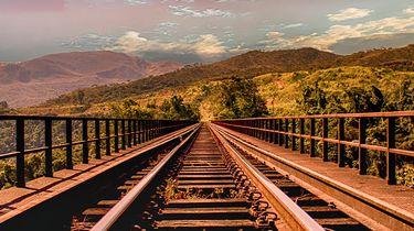 treinrails in oost europa