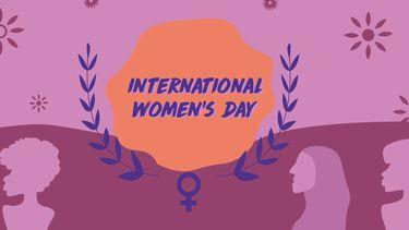 Illustratie van Internationale Vrouwendag