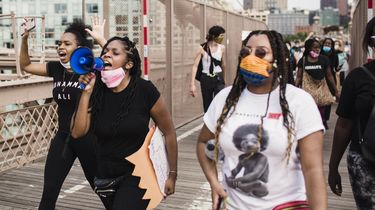 gesprek Black Lives matter vrouwen