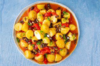 vegan aardappelsalade