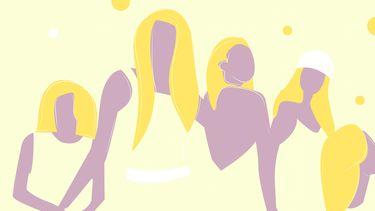 inspirerende vrouwen illustratie