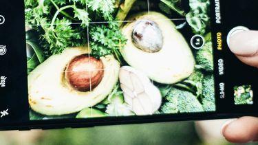 instagram met gezond eten