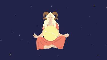 ram illustratie sterrenbeeld
