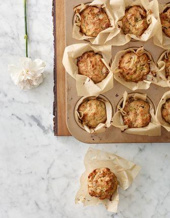 Vegan Courgette Muffins