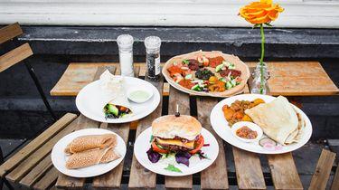 vegan lunch in amsterdam