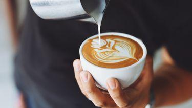 koffiedik in koffie