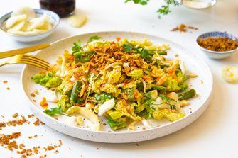 Aziatische maaltijdsalade