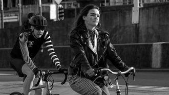 Nederlanders op fiets
