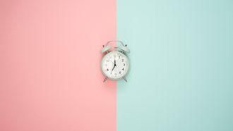 wekker creatiever in slaap