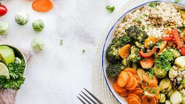 duurzaam eten op bord