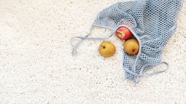 Tasje met fruit