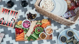 vegetarische picknick