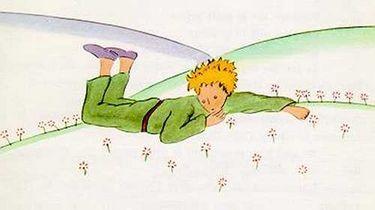 Afbeelding uit Le Petit Prince van Antoine de Saint-Exupéry