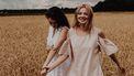 Twee vrouwen die elkaar gevonden hebben