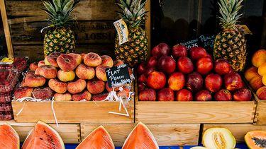 fruit op markt