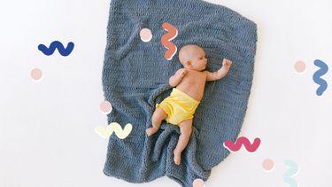 baby met duurzame luier