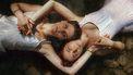 Twee mensen die een goede relatie hebben door mindulness