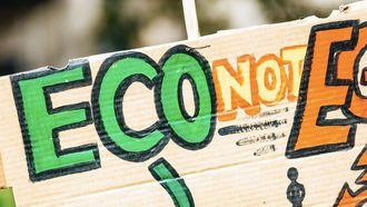 campagne bord tegen klimaatverandering